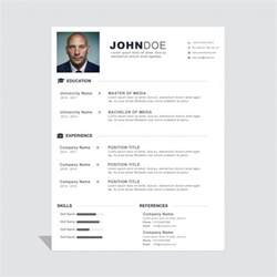 corporate curriculum vitae template vector free