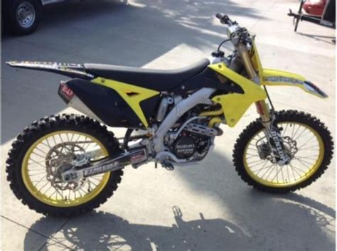 2010 Suzuki Rmz250 Buy 2010 Suzuki Rmz250 Dirt Bike On 2040 Motos