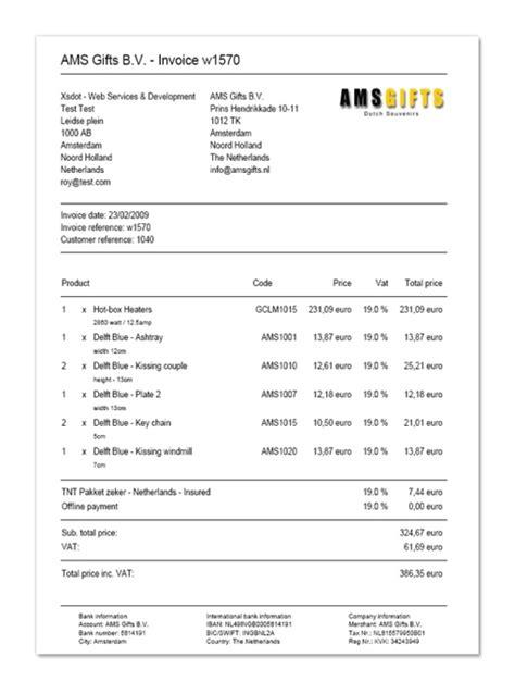 offer templates pdf order invoice offer xsdot