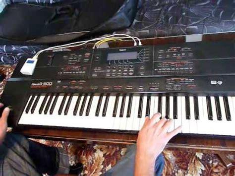 Keyboard Roland G 600 juzisound keyboard enhancer roland g 600