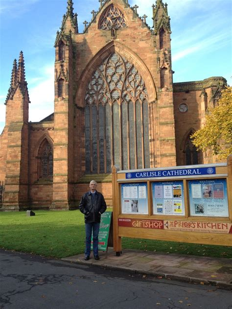 carlisle cathedral dinosaur on the floor barrie outside the cathedral beautiful carlisle