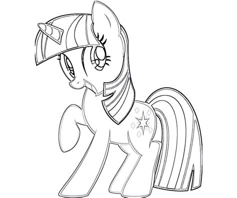 My Little Pony Twilight Sparkle Coloring Pages Coloring Home Mlp Coloring Pages Princess Twilight Printable