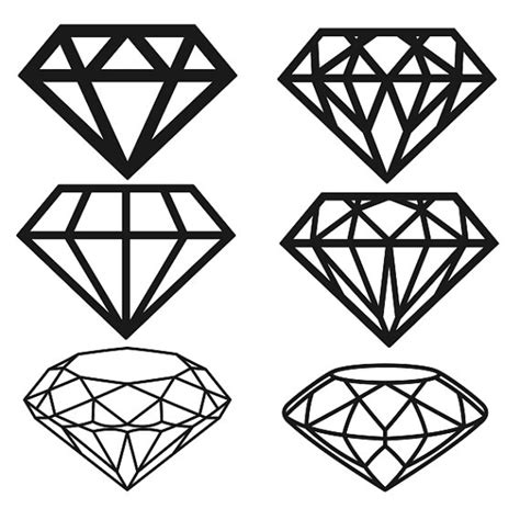 home design free diamonds diamond cuttable designs svg dxf eps use with silhouette
