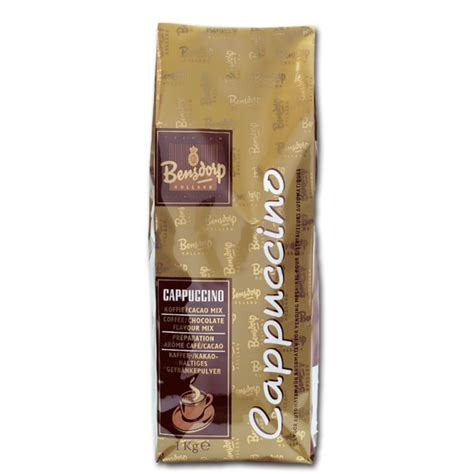 bensdrop 1 kg bensdorp cappuccino 1 kg