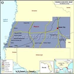 pasco county map florida