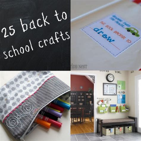 back to school crafts for 25 back to school crafts c r a f t