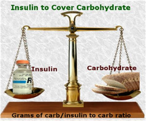 carbohydrates units of measure insulin calculation total insulin carb ratio correction
