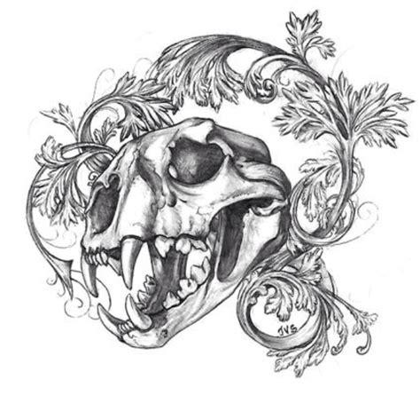 tattoo animal flash animal skull n filagree tattoo flash skin deep