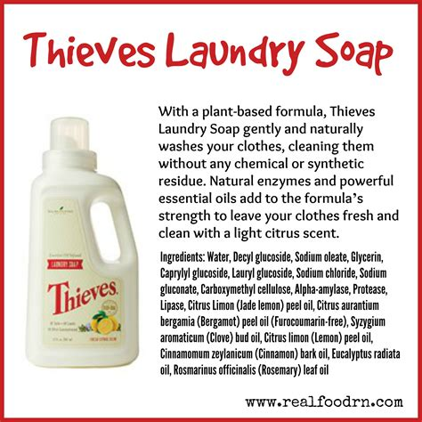 Thieves Cleansing Bar Soap thieves laundry soap real food rn