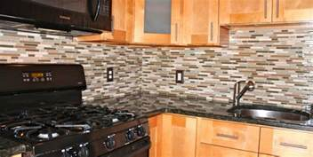 Mosaic Tile Backsplash Kitchen by Mosaic Glass Marble Backsplash New Jersey Custom Tile