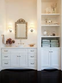 Bathroom Storage Design Built In Bathroom Cabinets Design Ideas