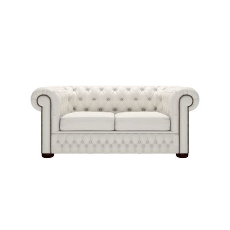 chesterfield white sofa chesterfield 2 seater sofa in shelly white from sofas by