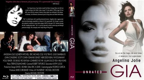 unrated video gia movie blu ray custom covers gia 1998 unrated