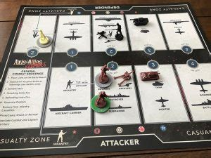 axis allies zombies board game quest