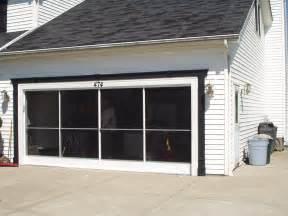 Sliding Garage Door Screens » Home Design 2017