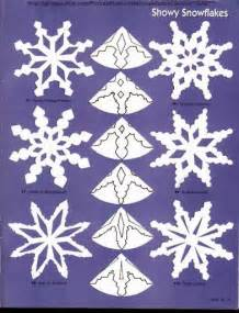 diy paper snowflakes templates paper snowflakes patterns the idea king