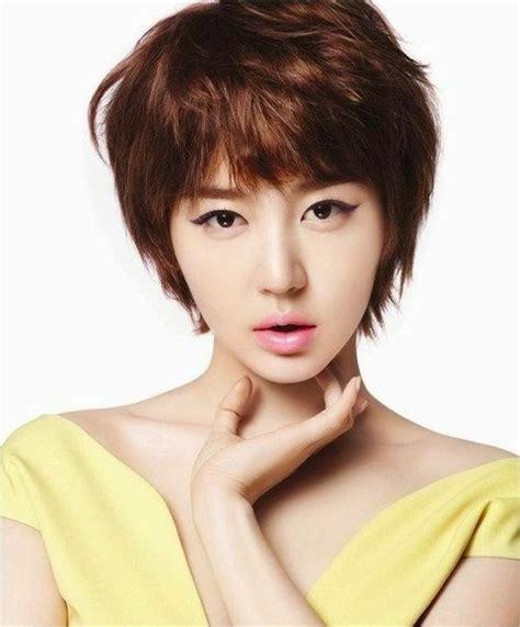 inilah gaya rambut cewek korea terbaru gaya rambut