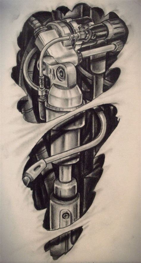 biomechanical drawings for tattoo amazing tattoo