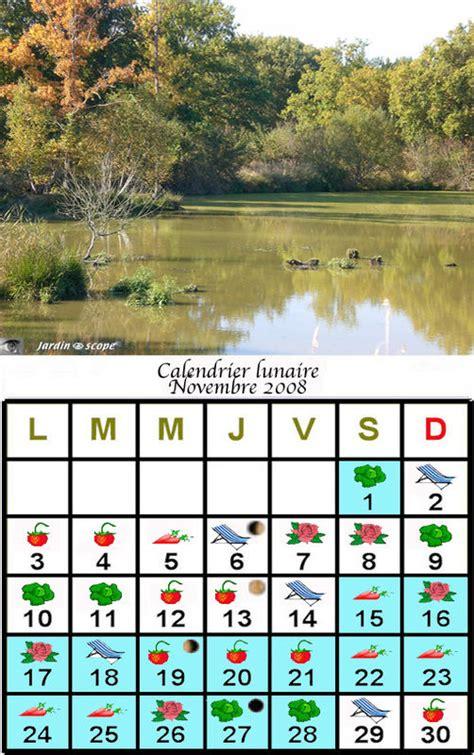 Calendrier Lunaire Novembre 2008 Jardiner Avec La Lune Au Mois De Novembre 2008 Le