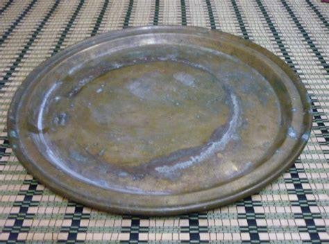 Barang Antik Tembaga pelbagai duit serta barang antik untuk dijual dulang tembaga 2