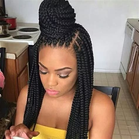 show a picture of beautyful hair style ghana weaving nigerian braids hairstyles 2018 the latest hairstyles in