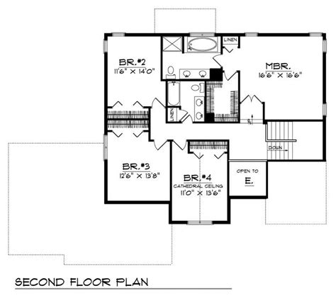 home floor plans 2800 square feet craftsman home with 4 bdrms 2800 sq ft house plan 101 1815