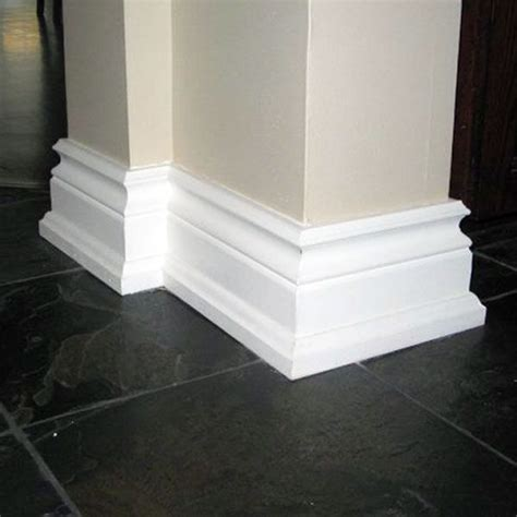 bold baseboards  added appeal moulding molding diy home decor house upgrade