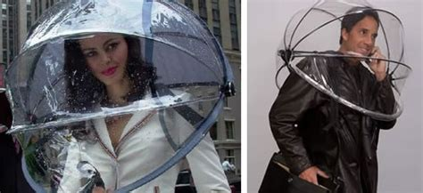 Nubrella Ultimate Weather Protector It Or It by Nubrella The Free Umbrella Neatorama