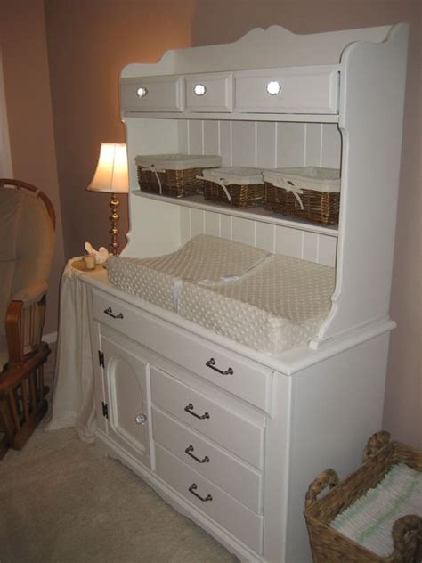 Changing Table With Hutch Changing Tables The Hutch And Tables On