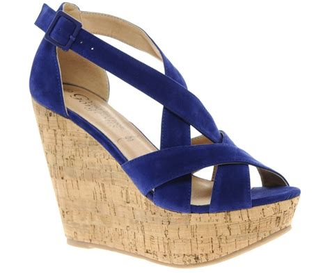 New Wedges Electric Blue Paling Murah what to wear with blue shoes best blue shoes you will olixe