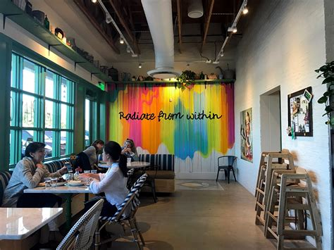 design center restaurants dallas flower child in inwood village serves fast casual gluten