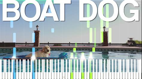 boat dog by markiplier boat dog markiplier song synthesia piano tutorial