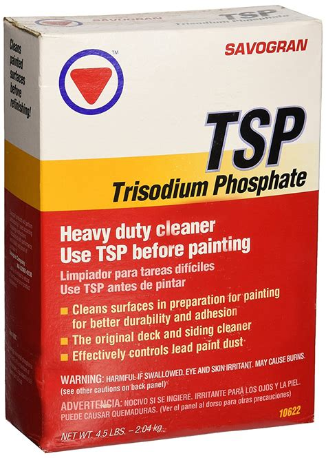 Amazon Cleaning by Savogran 10622 Trisodium Phosphate Tsp 4 5lbs Ebay