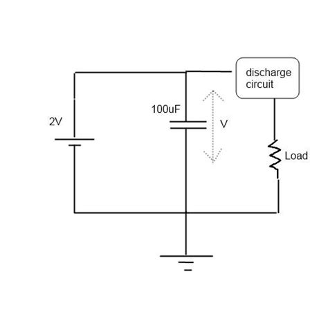 how to charge a high voltage capacitor with low voltage capacitor discharge after charge electrical engineering stack exchange