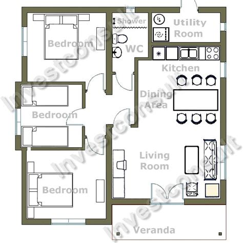 small 3 bedroom house plans with loft bedroom home plans