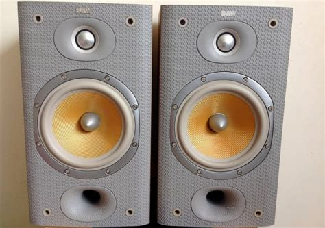 bw dm601 s3 bookshelf speakers for sale in blessington