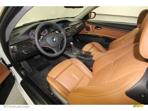 Bmw Leather Upholstery by Saddle Brown Dakota Leather Interior 2010 Bmw 3 Series