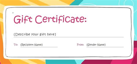 free templates gift certificate printable vastuuonminun