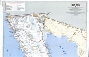 baja california road mapfree maps of america