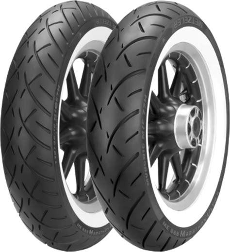 metzeler me 888 marathon wide white sidewall front tire