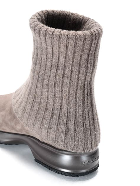 knit cuff boots knitted cuff ankle boots by ankle boots ikrix