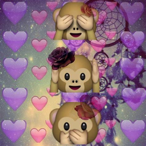 wallpaper emoji monkey 132 best cute emoji backgrounds images on pinterest