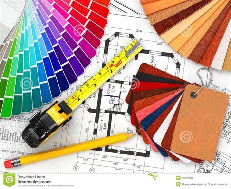 interior design architectural materials tools and