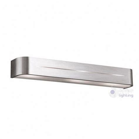 applique design moderno lada parete design moderno acciaio satinato