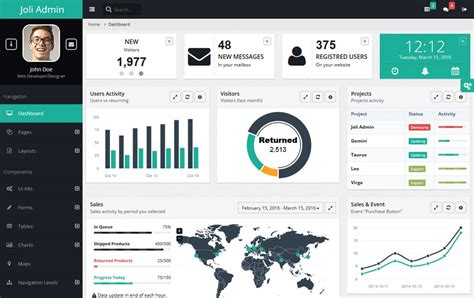 admin template 30 responsive free angularjs admin themes 187 css author