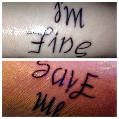 im fine save me tattoo 17 best images about the martyr olympics on i