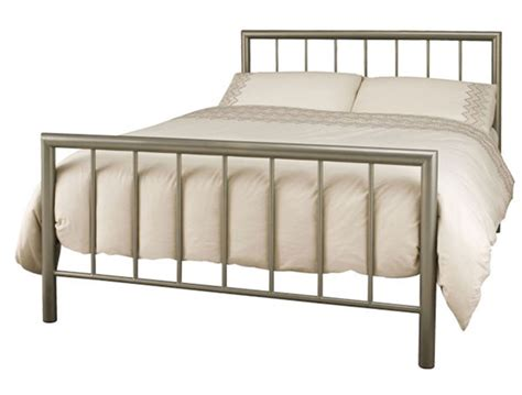 Contemporary Metal Bed Frames Serene Modena Modern Metal Bed Frame Buy At Bestpricebeds