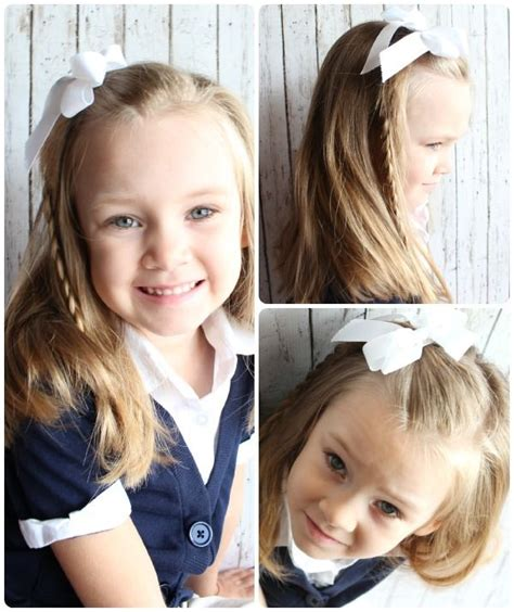 easy to manage hairstyles for new moms 10 easy hairstyles for girls little girls new school
