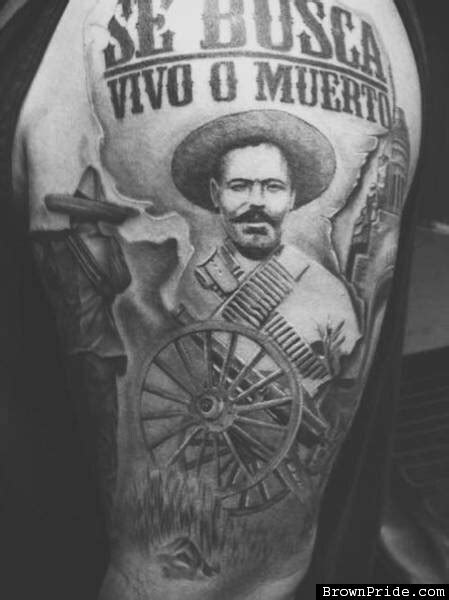 pancho villa tattoo pin by larry hinojos on zapata villa villas