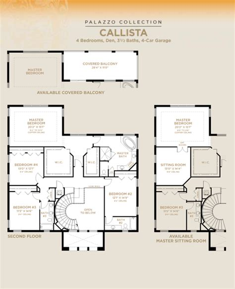 minto homes floor plans olympia callista furnished model new homes in